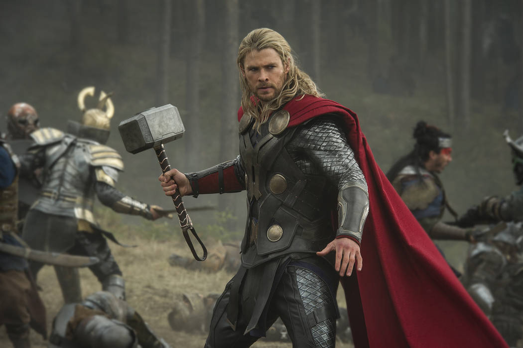 chris hemsworth on bulking up for thor being a dad las vegas