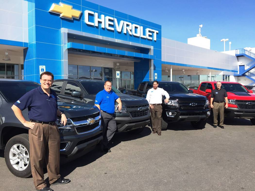 Findlay Chevrolet The Chevrolet Colorado truck has proved to be very popular at Findlay Chevrolet, where several employees of the dealership are among the many who bought the truck. Pictured with  ...