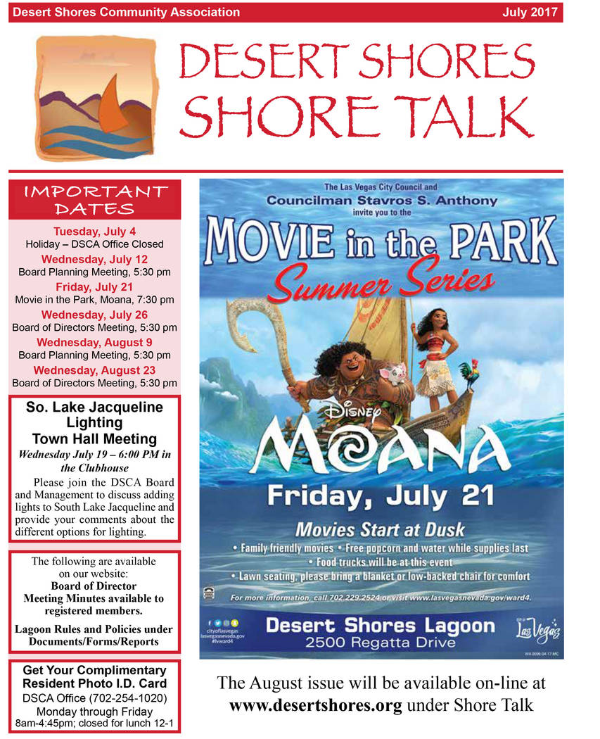 """Moana"" was advertised as a free ""Movie in the Park"" held in City Councilman Stavros Anthony ward. Each councilman has a $30,000 a year discretionary fund for s ..."
