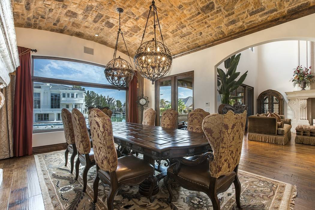 The formal dining room. (Team Carver, Berkshire Hathaway Home Services)