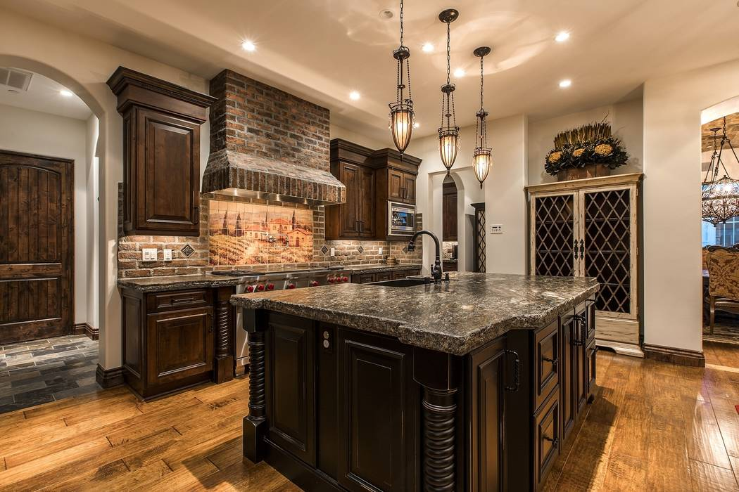 The kitchen. (Team Carver, Berkshire Hathaway Home Services)