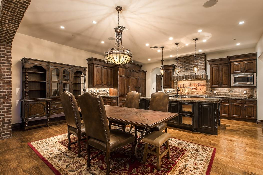 A dining area is off the kitchen. (Team Carver, Berkshire Hathaway Home Services)