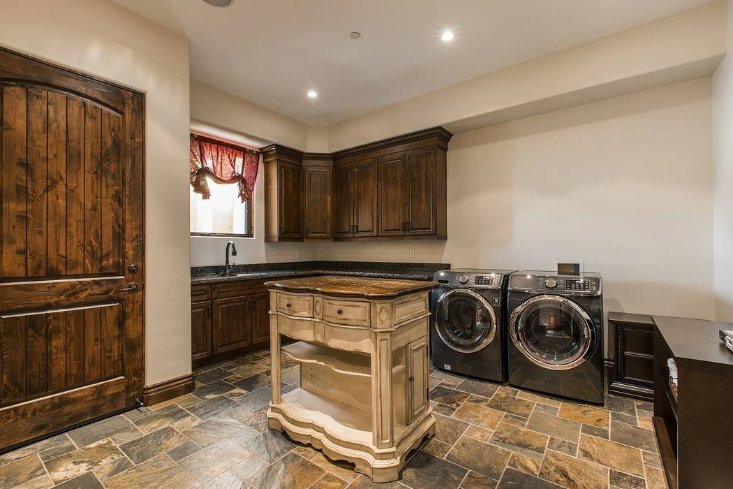 The laundry (Team Carver, Berkshire Hathaway Home Services)