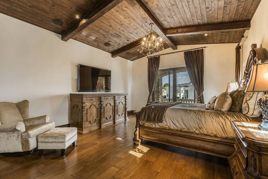 The master bedroom. (Team Carver, Berkshire Hathaway Home Services)
