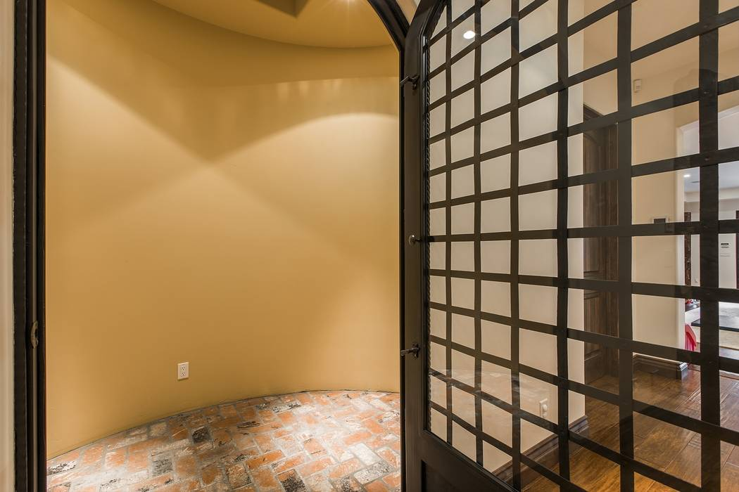 The wine room.  (Team Carver, Berkshire Hathaway Home Services)