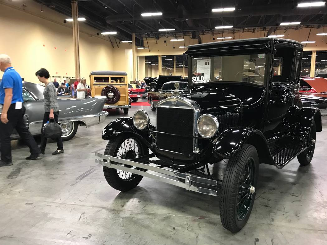 A Model T car at the Barrett Jackson car auction in Las Vegas on Thursday, October 19, 2017. (Todd Prince/Las Vegas Review-Journal)