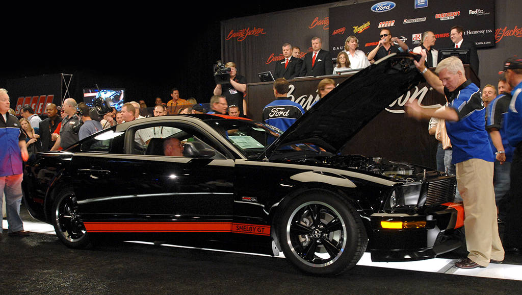 The Barrett-Jackson Las Vegas auction is underway at the Mandalay Bay this week. (Courtesy)