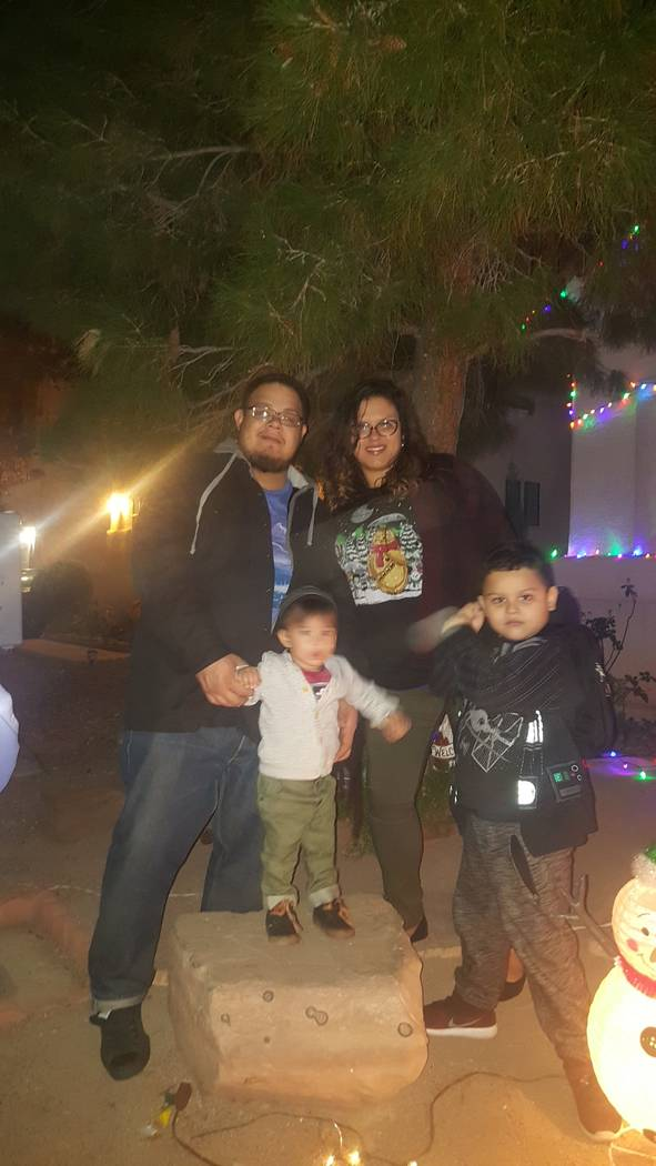 Jorge Botello and his family, wife Lluvia Velez, and sons, 2-year-old Aric, and 5-year-old Aiden.  Courtesy Lluvia Velez