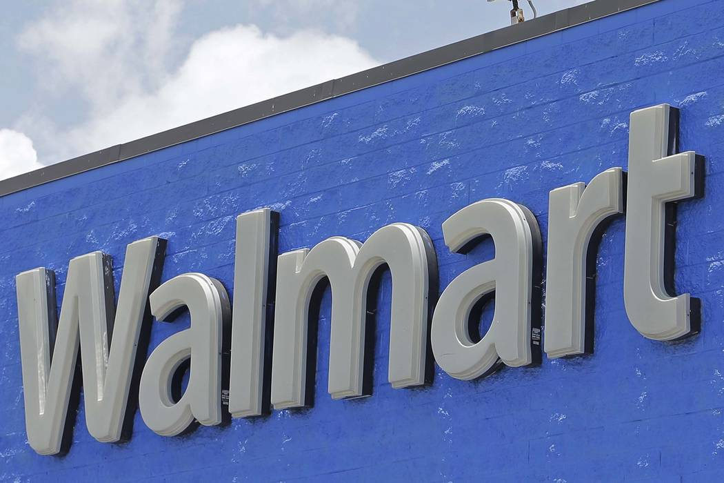 Walmart is opening a new store in the Las Vegas Valley. (Alan Diaz/AP, File)