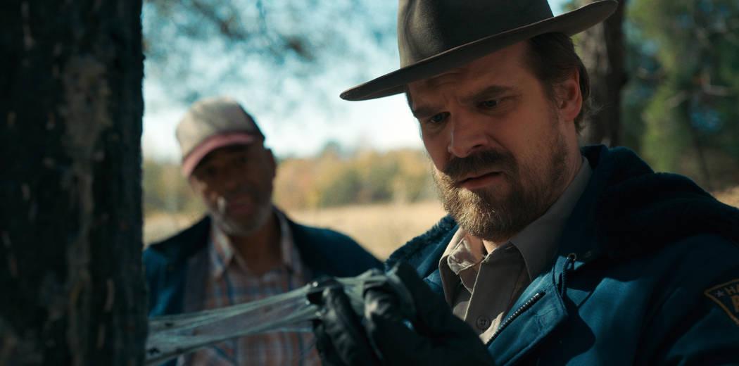 """David Harbour stars in """"Stranger Things"""" (Courtesy Netflix)"""