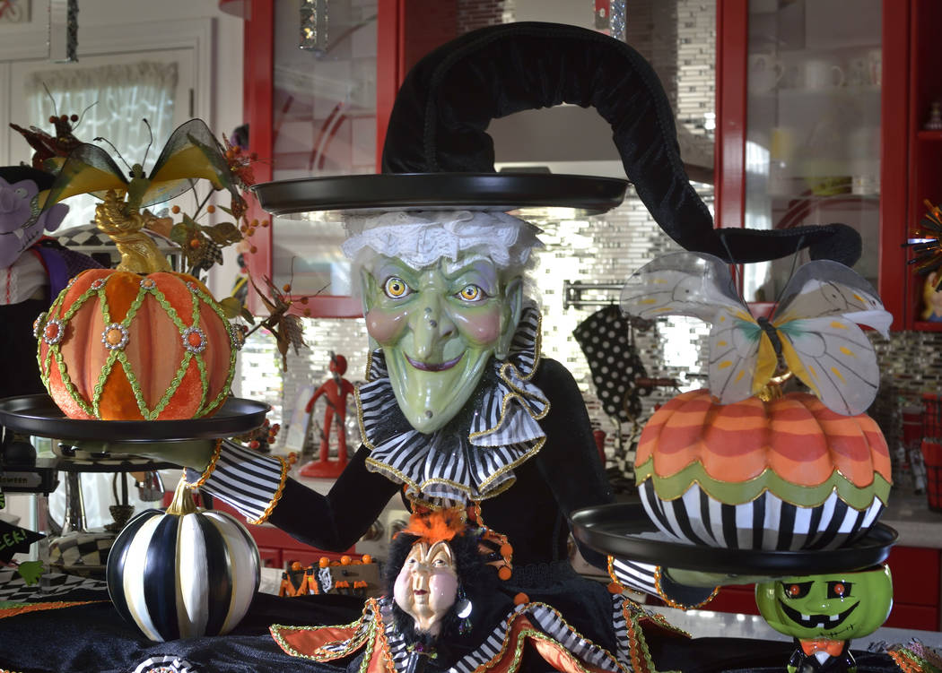 This witch is the centerpiece of the kitchen. (Bill Hughes Real Estate Millions)
