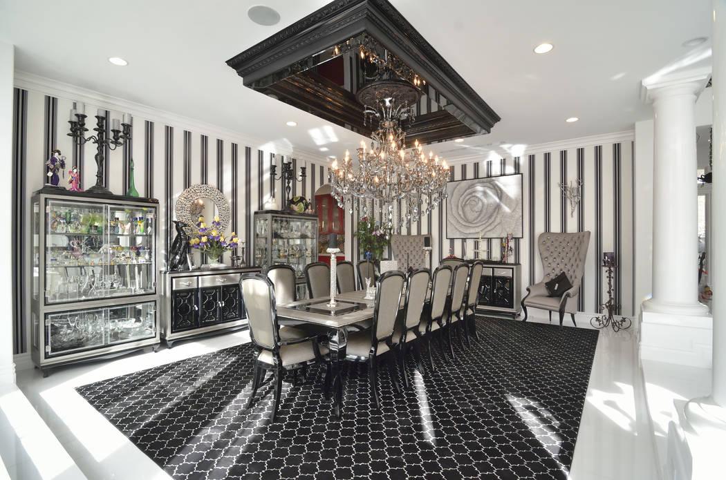 The formal dining room. (Bill Hughes Real Estate Millions)