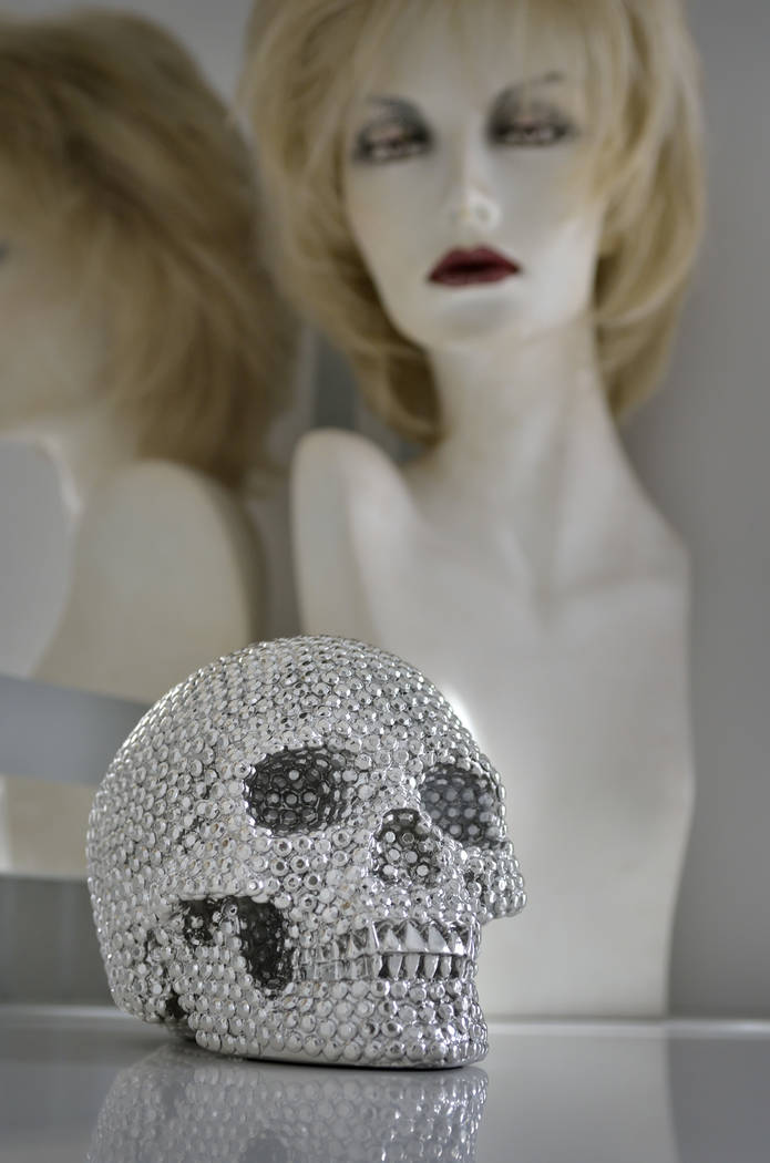"""Part of the Halloween decor is shown at the home of entertainer Frank Marino in Las Vegas on Oct. 16. Marino is the star of """"Frank Marino's Divas"""" at The Linq. (Bill Hughes Real Estate Millions)"""