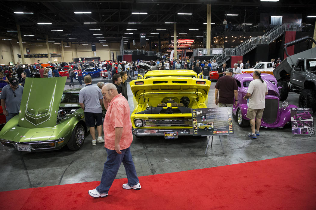 BarrettJackson Raises Million For Las Vegas First Responders - Barrett jackson car show las vegas