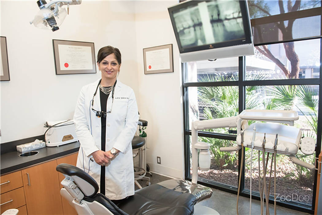 "Dr. Katayoun ""Katy"" Barin was a well-known dentist in Las Vegas and the larger dentistry community. She died on Oct. 12, 2017, after battling colon cancer. (NEA Dentistry)"