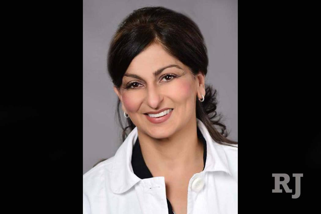"Dr. Katayoun ""Katy"" Barin, 48, died Oct. 12, 2017, after battling colon cancer. (NEA Dentistry)"