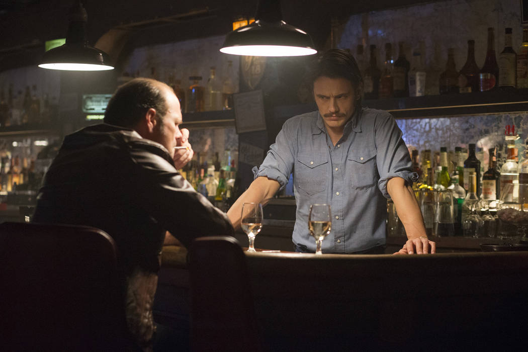 "Paul Schiraldi/HBO Chris Bauer, left, and James Franco in ""The Deuce."""