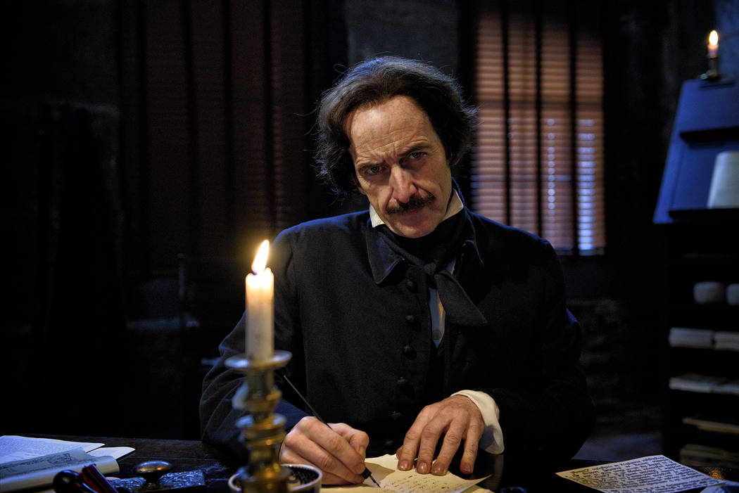 "Liane Brandon/PBS Dennis O'Hare as the titular writer in ""Edgar Allen Poe: Buried Alive."""