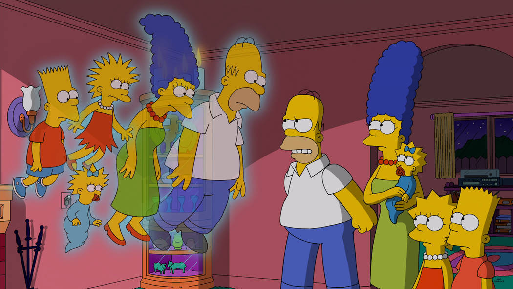 "THE SIMPSONS: Horror film ""The Others"" is spoofed in the all-new ""Treehouse of Horror XXV"" episode of THE SIMPSONS airing Sunday, Oct. 19 (8:00-8:30 PM ET/PT) o ..."