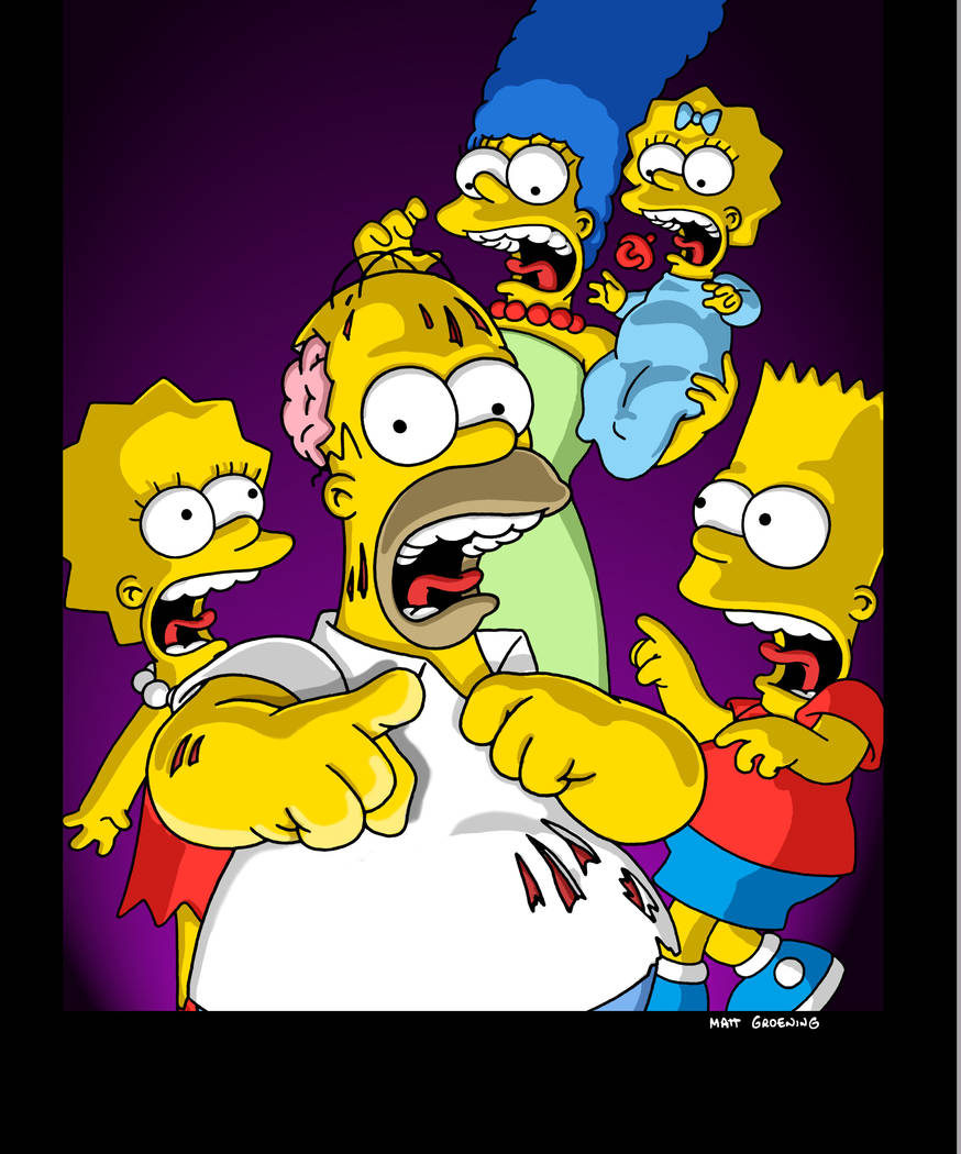 The Simpsons face the their annual tricks and treats and Halloween freaks in THE SIMPSONS episode Ҕreehouse Of Horror XIIӠTuesday, Nov. 6 (8:00-8:30 PM ET/PT) on FOX.  2001FOX BROADCAS ...