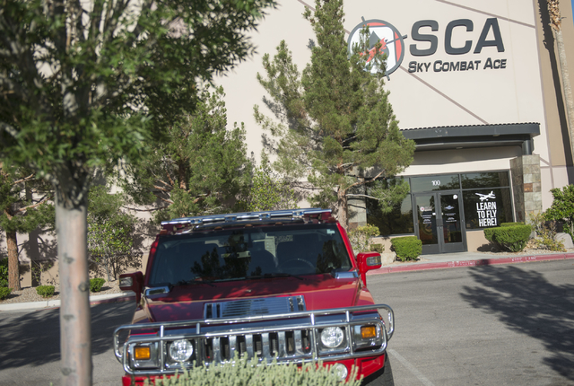 The Sky Combat Ace (SCA) building located near the Henderson Executive Airport in Henderson is shown on Friday, May 6, 2016. Jacob Kepler/Las Vegas Review-Journal