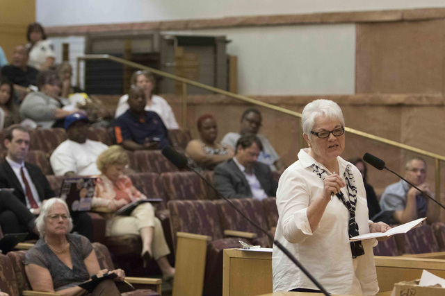 Sheila Moulton. Richard Brian/Las Vegas Review-Journal Follow @vegasphotograph