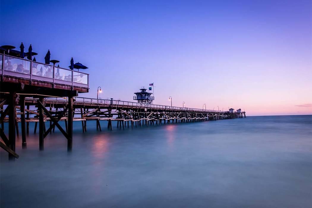 San Clemente Pier at Sunset. (Thinkstock)