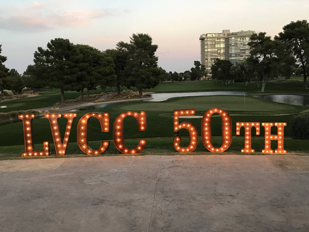 Members of the historic Las Vegas Country Club celebrated the 50th anniversary on Friday, October 20, 50 years to the day of when former Boston Celtics owner Marvin Kratter opened the club. Photo  ...