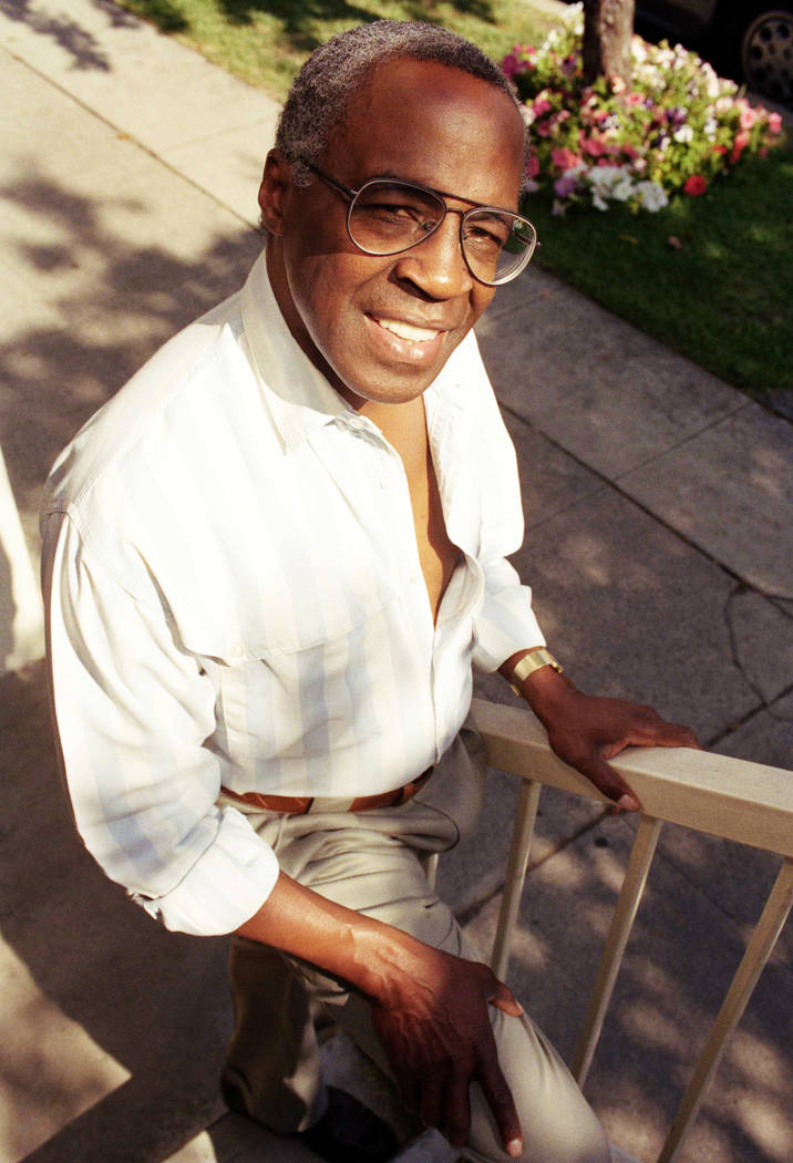 "Actor Robert Guillaume, shown in 1991, won Emmy Awards for his roles on ""Soap"" and ""Benson."" He died Tuesday, Oct. 24, 2017 in Los Angeles at age 89. (Chris Martinez/AP, File)"