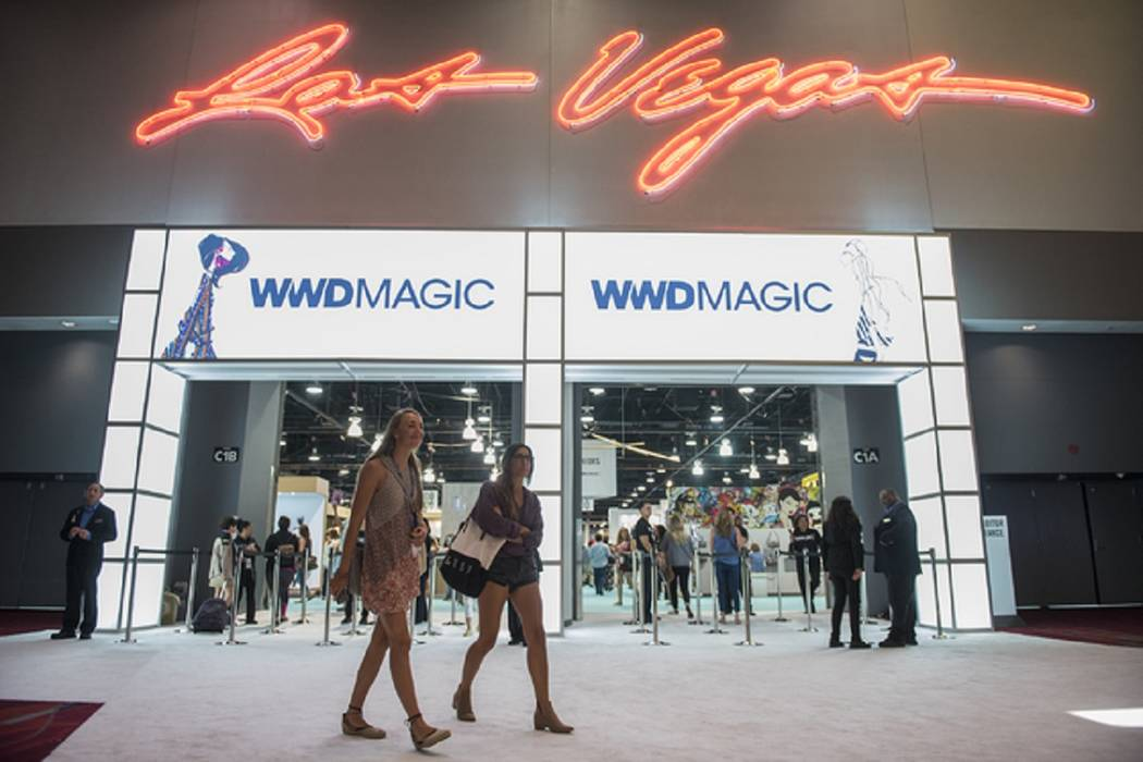 The Las Vegas Convention Center during the 2016 MAGIC trade show. (Las Vegas Review-Journal)