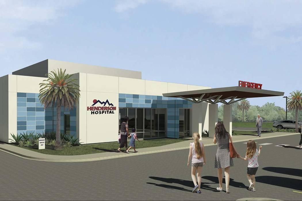 Henderson Hospital to build freestanding emergency room – Las Vegas ...