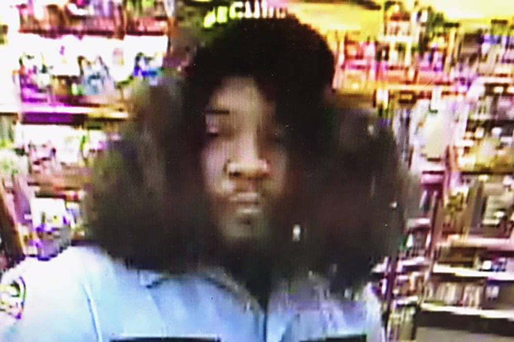 Police are searching for a man who tried to rob a Las Vegas convenience store while dressed as a security guard on Wednesday, October 25, 2017. (Las Vegas Metropolitan Police Department)