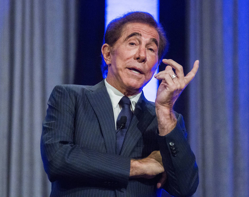 Steve Wynn, seen in 2016, said his planned Carnivale parade would occur on the lagoon, complete with fireworks. Las Vegas Review-Journal file photo