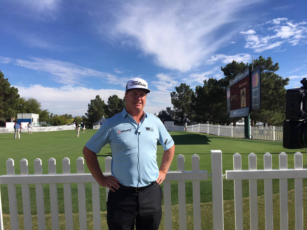 Former UNLV golf star Charley Hoffman said Monday will donate his Shriners Open earnings to Route 91 Harvest festival shooting victims. (Courtesy Shriners Open)