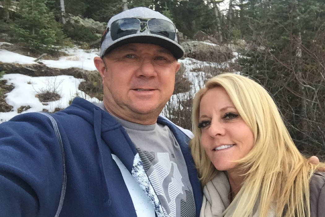 Dennis Carver and his wife, Lorraine Carver, died in a crash in Riverside, Calif., on Oct. 16, 2017. The couple survived the Route 91 mass shooting in Las Vegas.