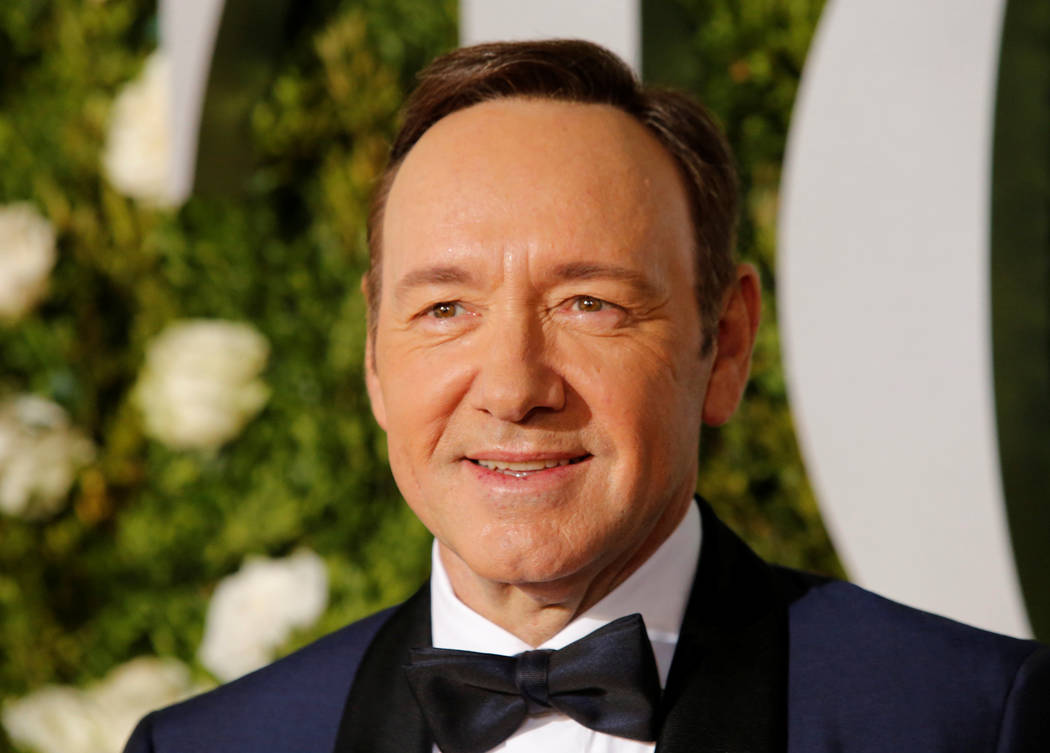 Actor Kevin Spacey arrives at the 71st Tony Awards in  New York City. (Eduardo Munoz Alvarez/Reuters)