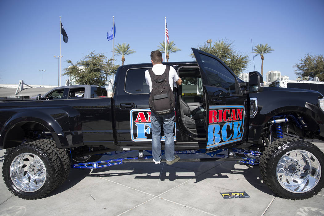 Hundreds Of Souped Up Trucks Are On Display At The Sema Show Oct