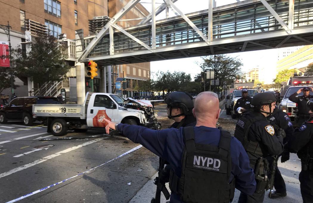 At least 6 dead after truck driver mows down pedestrians in lower Manhattan (Inform)