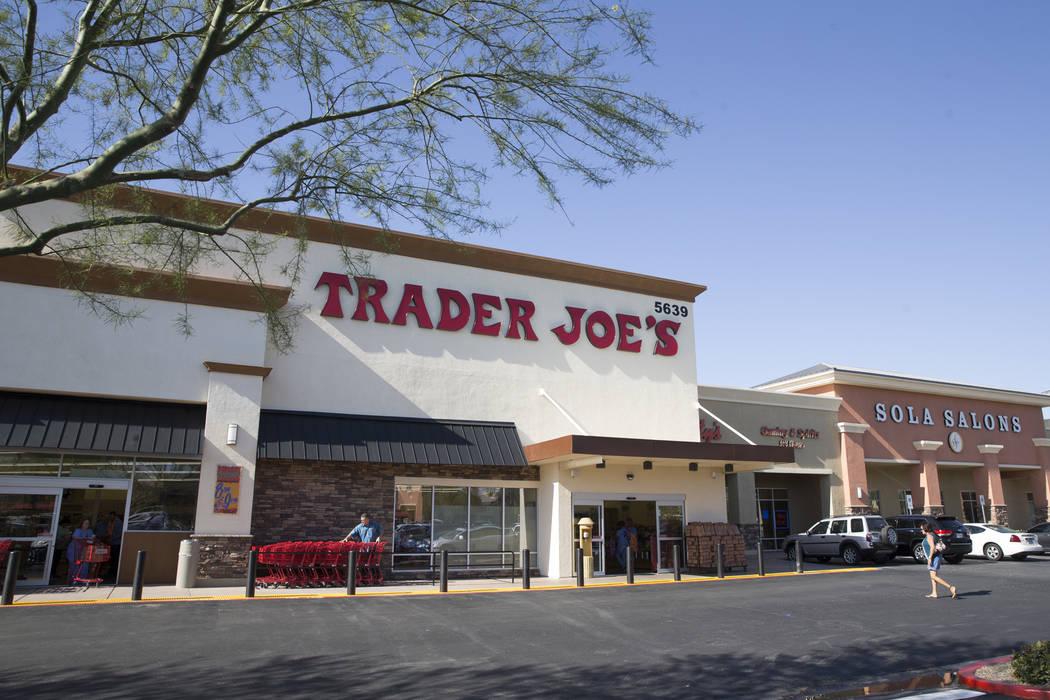 Trader Joe's, 5639 Centennial Center Blvd., during their grand opening on Friday, June 23, 2017 in Las Vegas. Erik Verduzco/Las Vegas Review-Journal