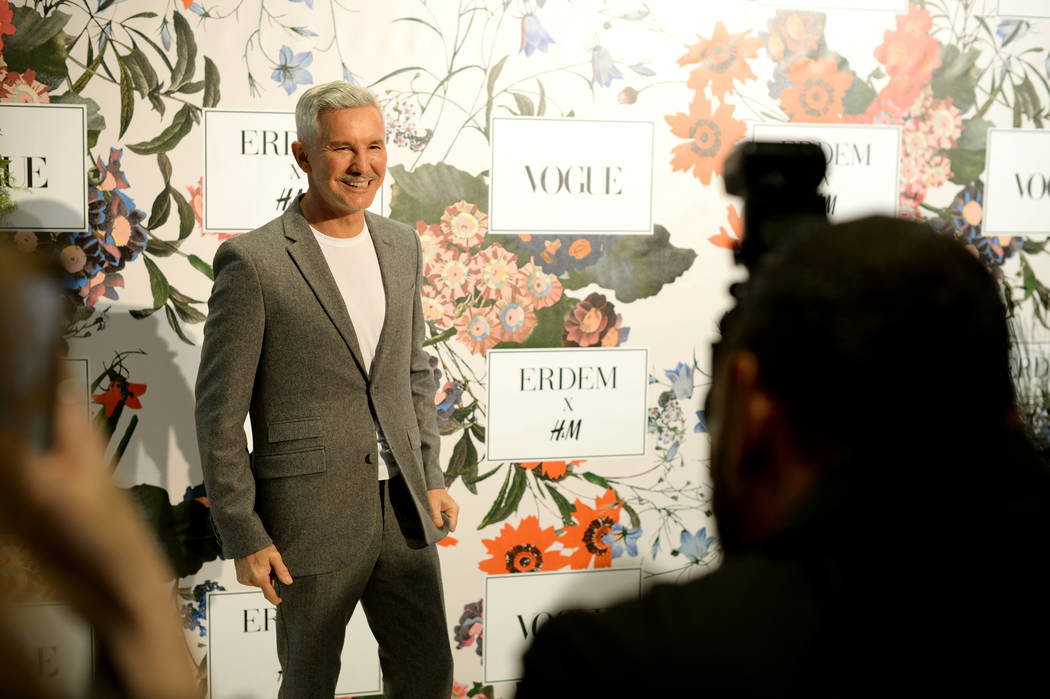 NEW YORK, NY - OCTOBER 24: Baz Luhrmann attends the ERDEM X H&M Exclusive Event at H&M Flagship Fifth Avenue Store on October 24, 2017 in New York City.  (Photo by Andrew Toth/Getty Images ...
