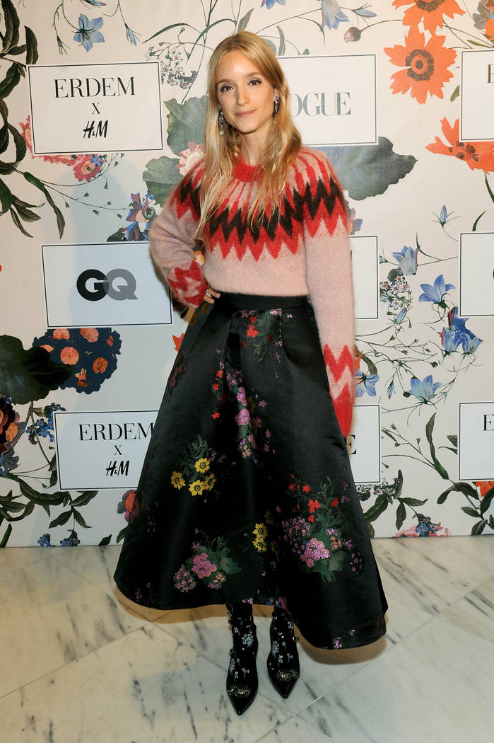 NEW YORK, NY - OCTOBER 24: Charlotte Groeneveld attends the ERDEM X H&M Exclusive Event at H&M Flagship Fifth Avenue Store on October 24, 2017 in New York City.  (Photo by Brad Barket/Gett ...