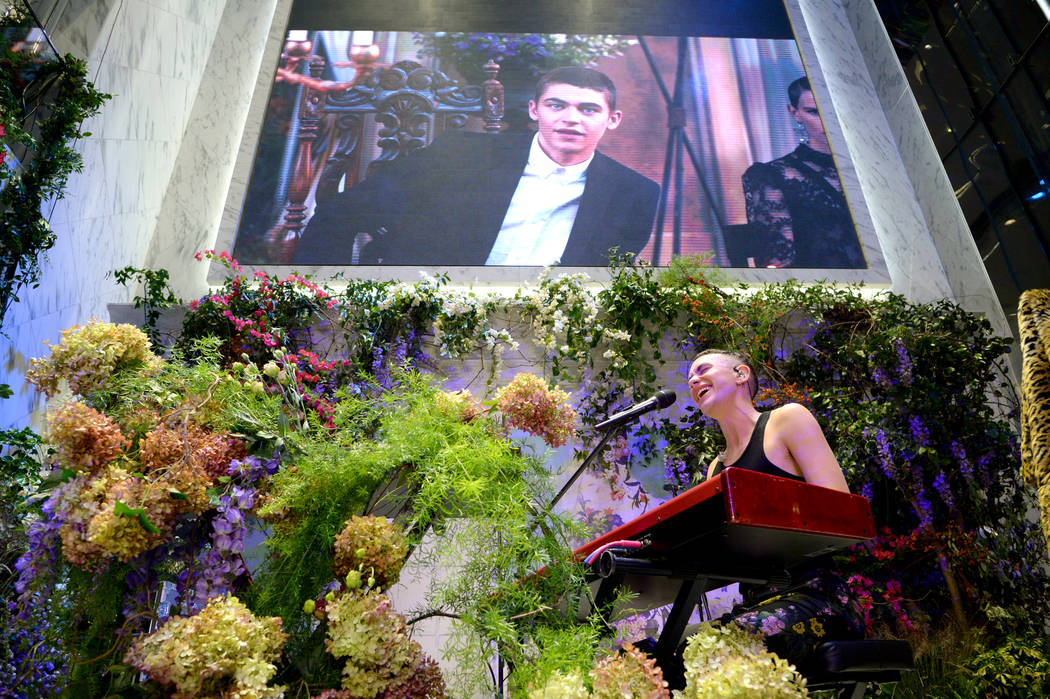 NEW YORK, NY - OCTOBER 24:  Olly Alexander of Years & Years performs at the ERDEM X H&M Exclusive Event at H&M Flagship Fifth Avenue Store on October 24, 2017 in New York City.  (Photo ...
