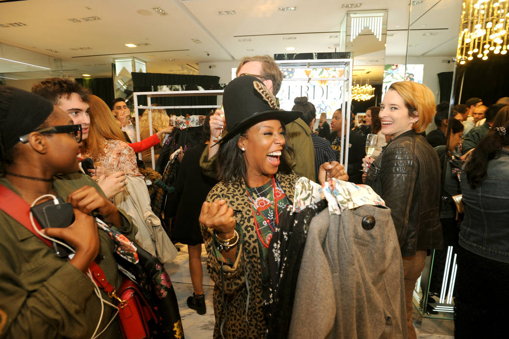 NEW YORK, NY - OCTOBER 24:  Guests attend the ERDEM X H&M Exclusive Event at H&M Flagship Fifth Avenue Store on October 24, 2017 in New York City.  (Photo by Brad Barket/Getty Images for H ...