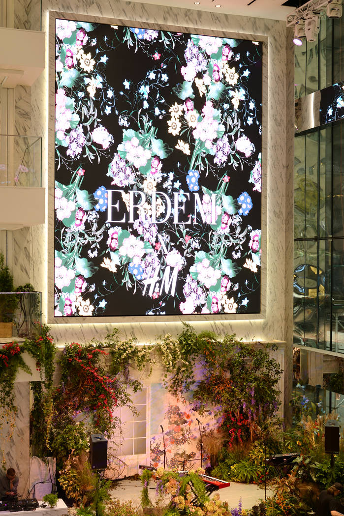 A view of the venue at the ERDEM X H&M Exclusive Event at H&M Flagship Fifth Avenue Store on October 24, 2017 in New York City.  (Photo by Andrew Toth/Getty Images for H&M)