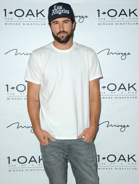 Brody Jenner arrives at 1 OAK at The Mirage on Oct. 24, 2014, in Las Vegas. (Mindy Small/FilmMagic)