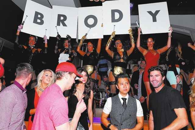 Brody Jenner partied Saturday at Hyde nightclub in the Bellagio. Courtesy photo by Bryan Steffy/WireImage.