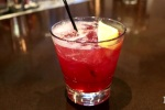 Flowers, fruits lend bright pink color to Tom's Urban cocktail — VIDEO