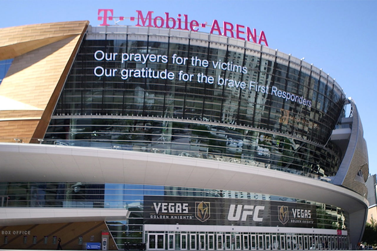 UFC 216 fighters react to the mass shooting in Las Vegas
