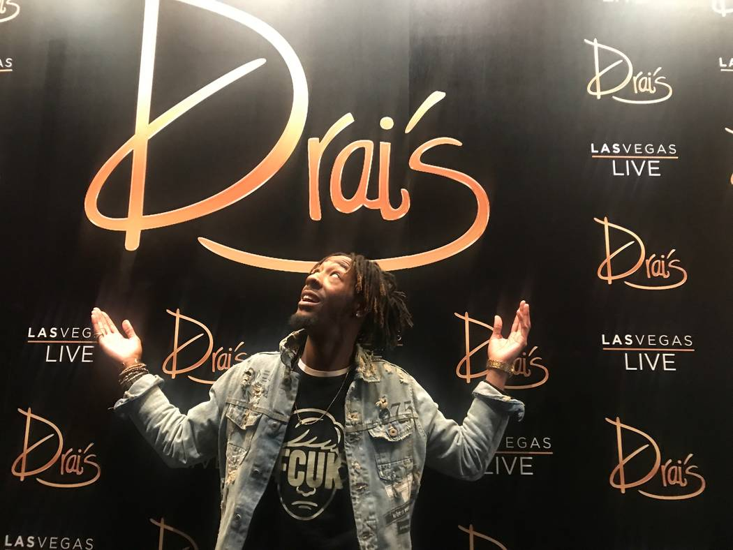 Drai's Beachclub & Nightclub production coordinator Aaron Gillam, 29, poses for a portrait on October 19, 2017 at the club. (Kailyn Brown/View) @KailynHype