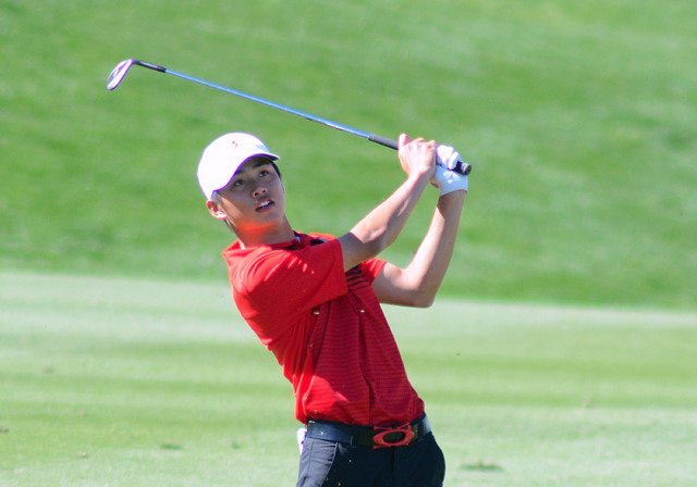 UNLV senior Shintaro Ban, shown last year, was selected the Mountain West's golfer of the month for October. (UNLV)